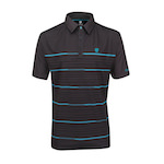 Poloshirt Island Green Coolpass anthrazit